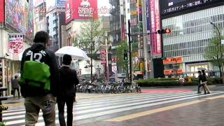 Japan Trip 2012 Tokyo Shinjuku Kabukicho Seibu Shinjuku Station Yasukuni Street