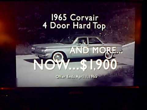 Tom Clark Chevy >> April 1 2017 Tom Clark Chevrolet Corvair Ad Seen On Kdka Tv