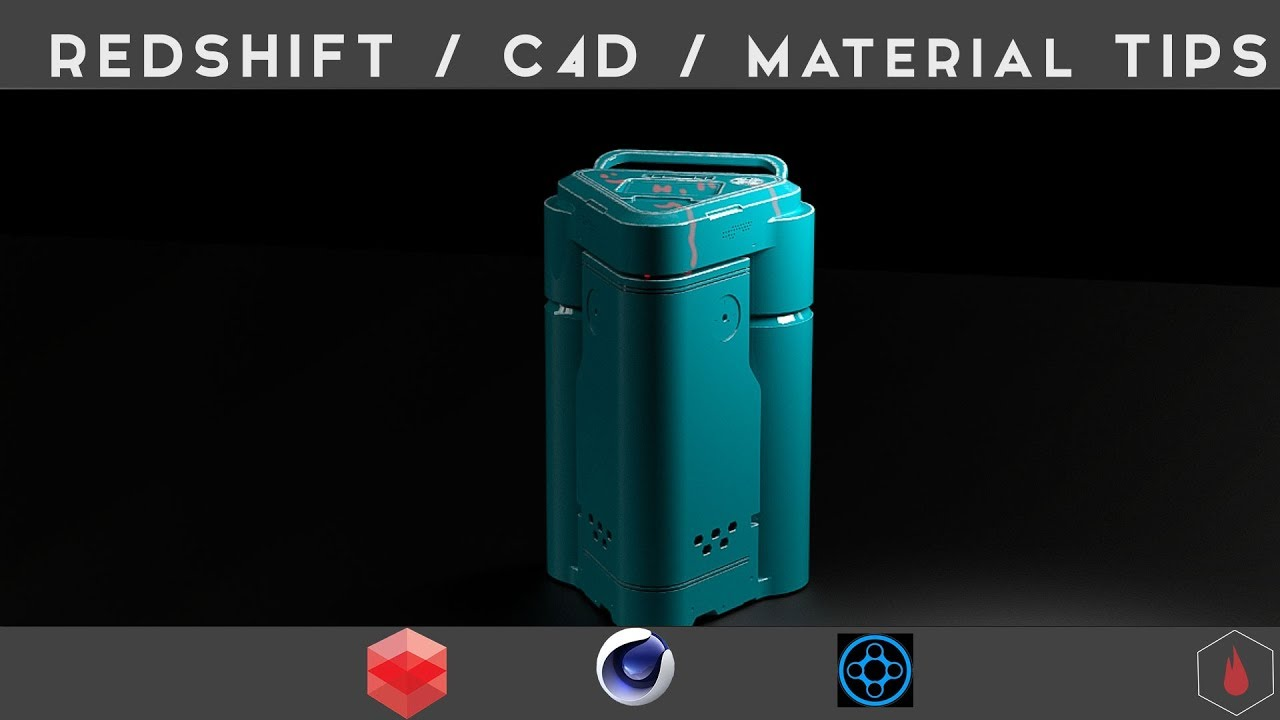 C4D Redshift / Material Tips: LIVE TUTORIAL