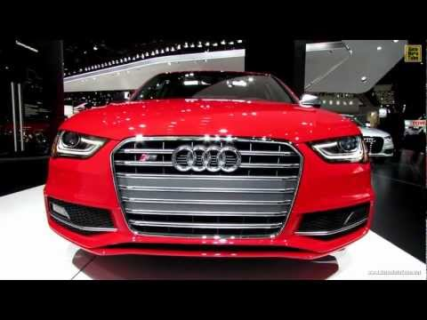 2013 Audi S4 - Exterior and Interior Walkaround - 2013 Detroit Auto Show