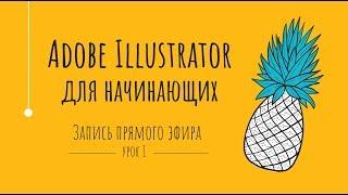Adobe Illustrator для начинающих. Урок 1