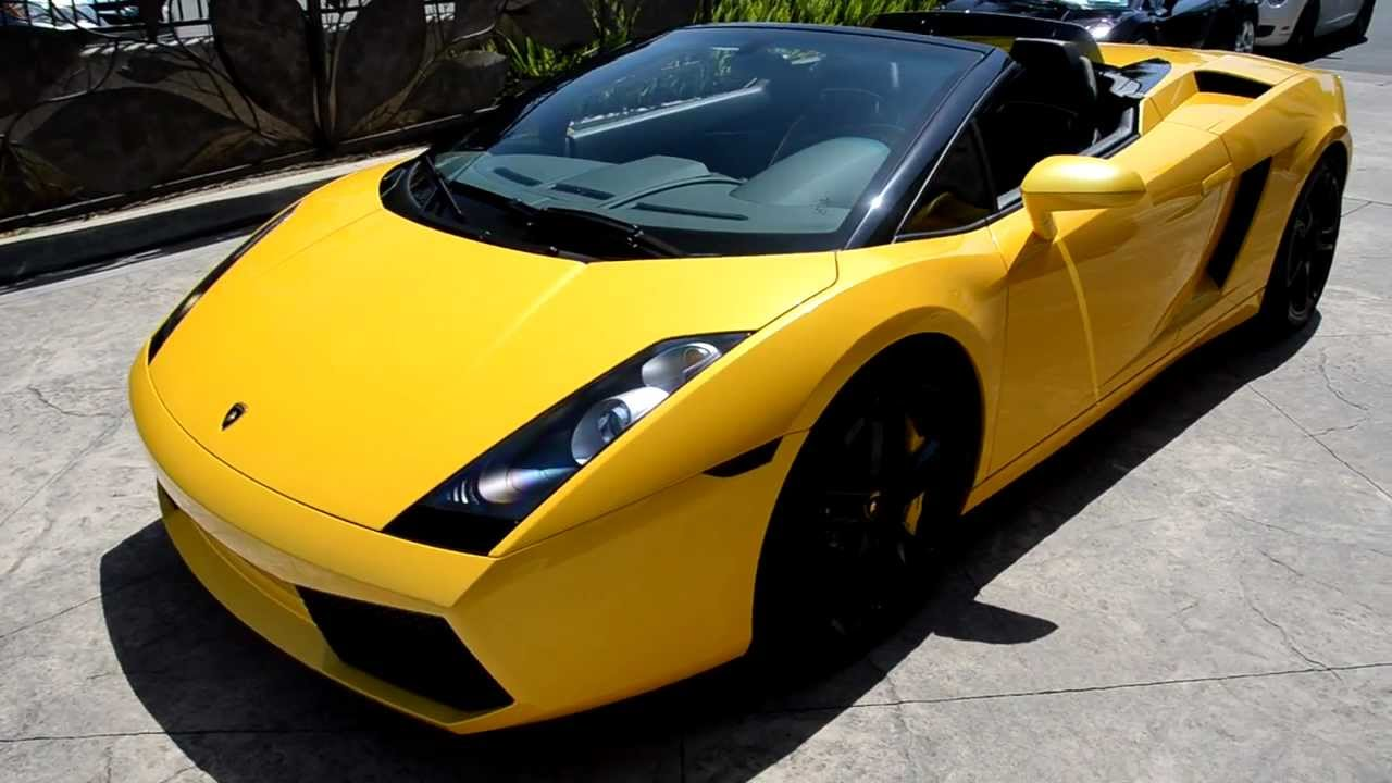 2008 Lamborghini Gallardo Spyder Walk Around Lamborghini Newport