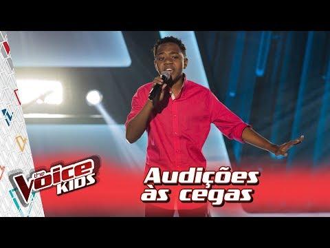 Victor Hugo canta 'I Have Nothing' na Audição – 'The Voice Kids Brasil' | 3ª Temporada
