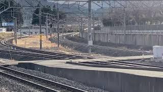 (実車) 383系しなの 名古屋行き 塩尻駅発車