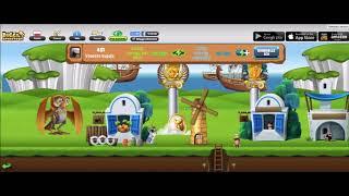 Diggy's Adventure (WebGL version) - Friends & Social System Preview