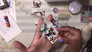 5. HANDMADE DIY EASY GIFT TAGS - Using Dollar Tree Paper Bags