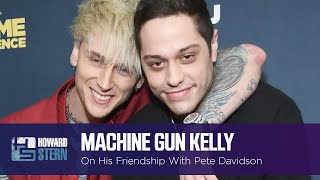 Machine Gun Kelly Jokes About Pete Davidson's BDE