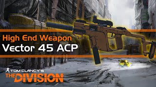 the division vector 45 acp best smg high end weapon review