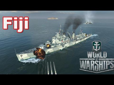 World of Warships: Fiji On Estuary
