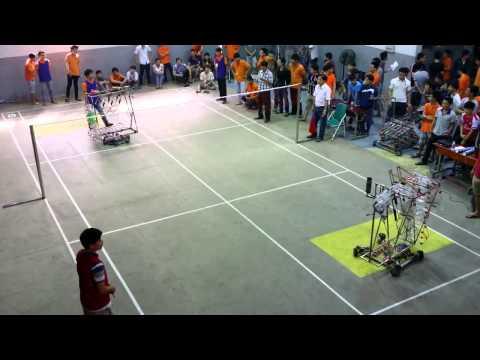 Robocon 2015 Lac Hong - Tổng hợp những trận đấu của Lạc Hồng