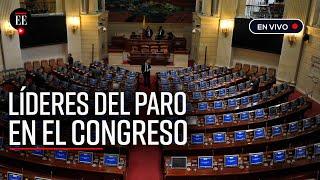 El Senado se reúne para escuchar a los representantes del Paro Nacional  - El Espectador