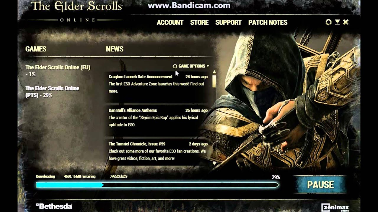 Eso launcher download
