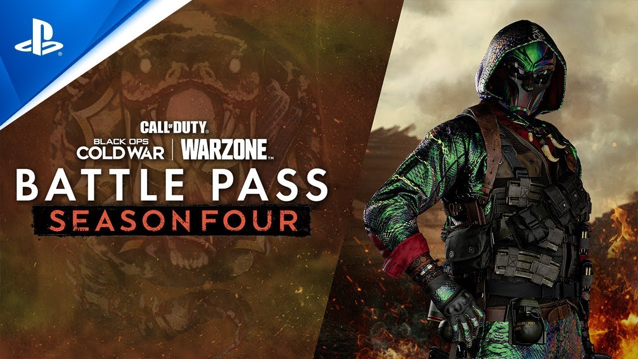 Call of Duty: Black Ops Cold War & Warzone - Season Four Battle Pass Trailer