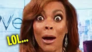Wendy Williams Forgot She Was LIVE... (YIKES!)