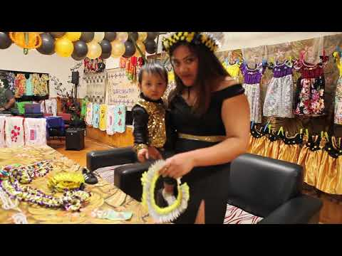 Kiribati - Gilbert Nawaia Utimawa 1st Birthday Celebration 7 October 2017 (Highlights)