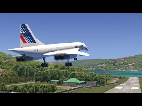 Landing The CONCORDE