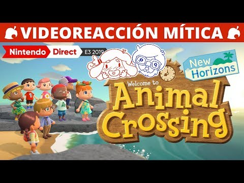 REACCIÓN DE LEVEN Y SAG AL NINTENDO E3 2019 | ANIMAL CROSSING PARA SWITCH!