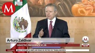 Arturo Zaldívar, anuncia medidas contra la corrupción