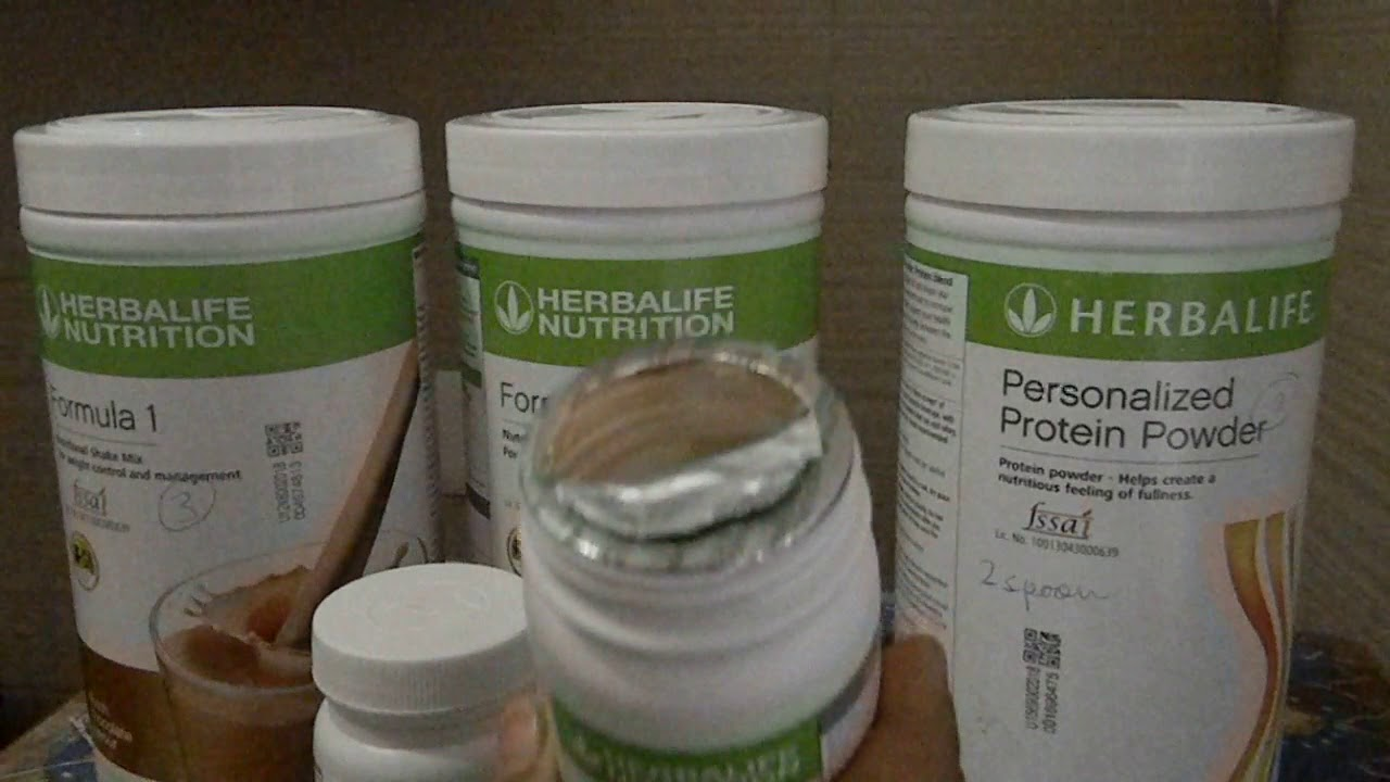 Herbalife Products For Weight Loss Review Of Herbalife Afresh Formula 1 Protein Shake
