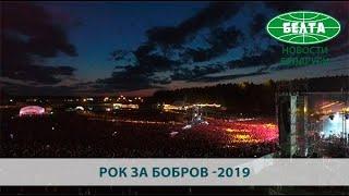"""Баста, Дудь, Мумий Тролль на фестивале """"Рок за Бобров"""""""