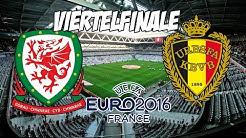 Wales - Belgien   EM 2016 Viertelfinale   Prognose