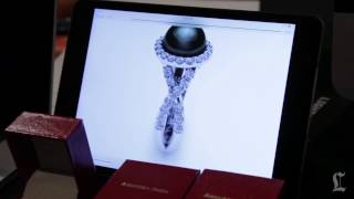 CES 2014: 3-D Printed Jewelry By American Pearl