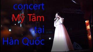 Mỹ Tâm mặc hanbok hát ở Hàn. concert Mỹ Tâm in Korea (part2)