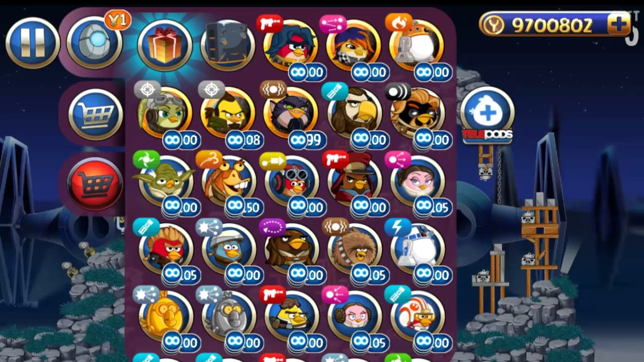 Angry birds star wars 2 rebels all levels bird side - Angry birds star wars 7 ...