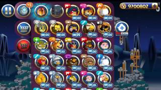 Angry Birds Star Wars 2 Rebels All levels (Bird Side)