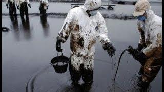 ЧП в Атырауской области! Разлив нефти на месторождении!