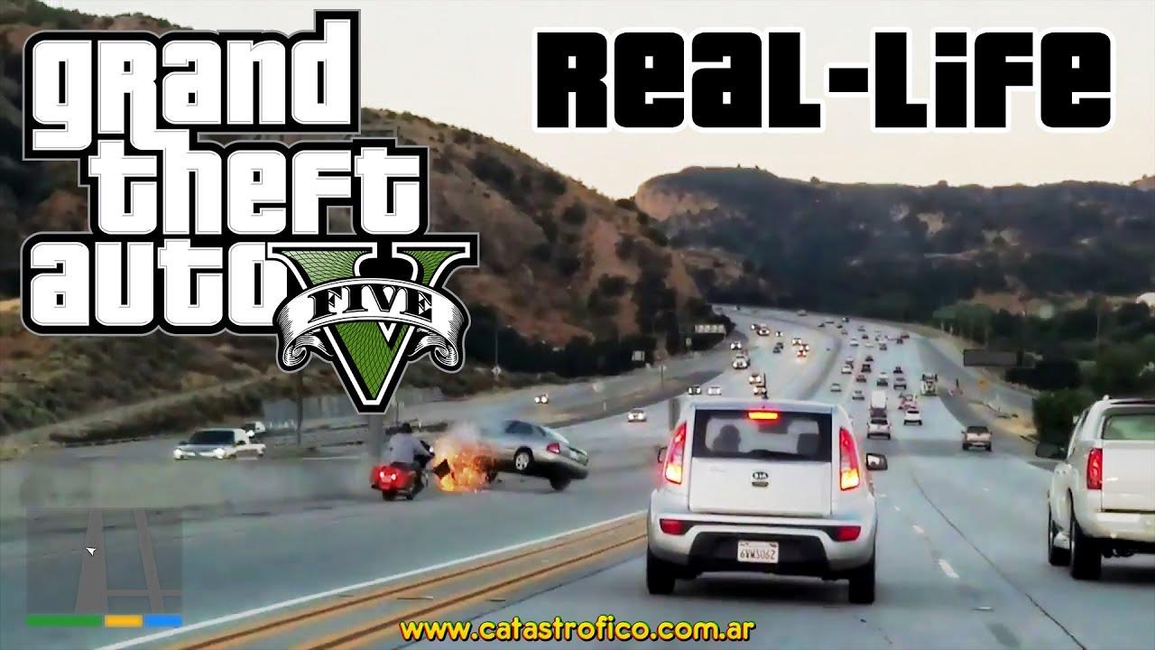 GTA V In Real Life (California Road Rage