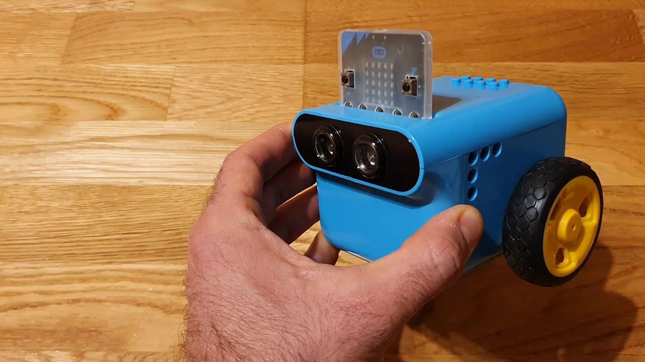 TPBot programabil cu Micro:bit - urmarirea altei masini