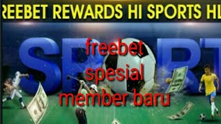 Bonus freebet 20k tanpa deposit di website hl8