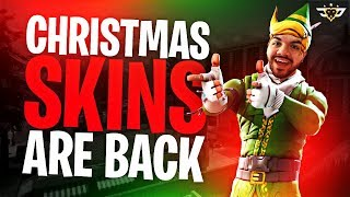 CHRISTMAS SKINS ARE BACK?! YOUTUBER SUPER TEAM! (Fortnite: Battle Royale)