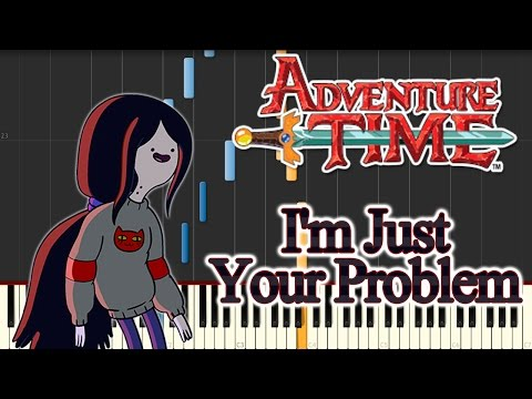Adventure Time -  I'm Just Your Problem (Piano Tutorial - Synthesia) / Easy