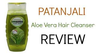 Patanjali Aloe Vera Hair Cleanser Review | Best Patanjali Shampoo | Ayurvedic Herbal Shampoo