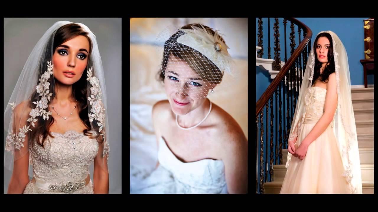 Hochzeitsfrisuren Mit Schleier Youtube