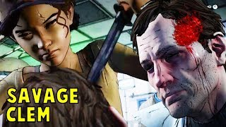 Every Human Killed By Clementine - The Walking Dead All Seasons (Telltale)