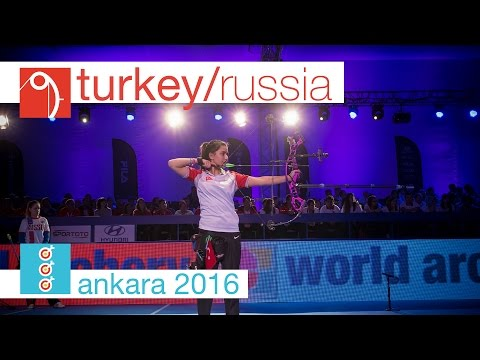 Russia v Turkey – Compound Junior Women's Team Gold Final | Ankara 2016
