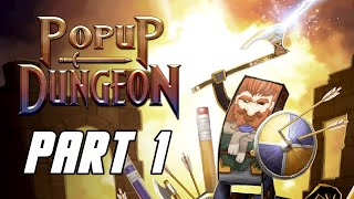 POPUP DUNGEON - Full Game Gameplay Walkthrough Part 1 (No Commentary, PC)