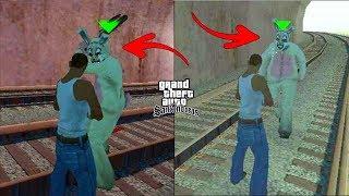 Secret Rabbit Attack Location in GTA San Andreas! (Hidden Place) #RAJPOOTGAMER