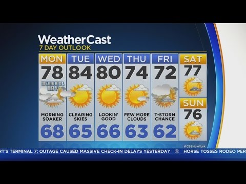 5/30 CBS2 Monday Morning Weather Forecast