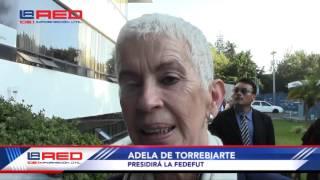 Adela de Torrebiarte, dirigirá la Federación de Fútbol de Guatemala.