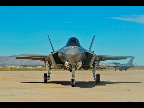 F-35 Aircraft IMPRESSED Pilots at US Military Red Flag Training Exercise