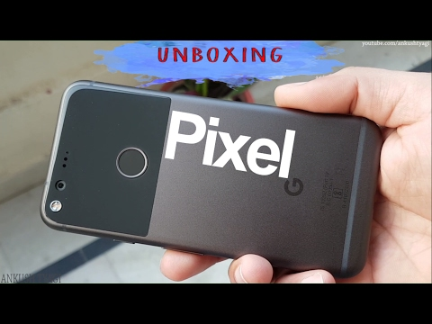 Google Pixel Unboxing & Hands On (Retail Unit) [Hindi-हिन्दी]