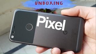 Google Pixel Unboxing amp Hands On Retail Unit Hindi-