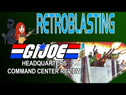 G.I. Joe Headquarters Command Center Vintage Playset Review ARAH