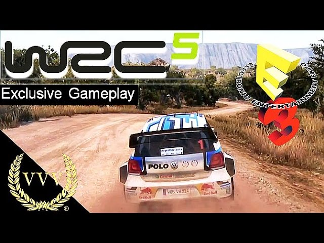 WRC 5 Gameplay E3 2015