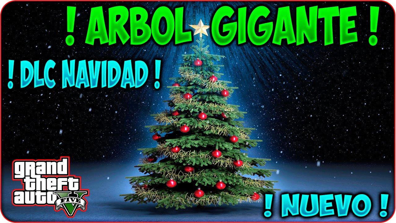 Nuevo arbol gigante gta v online dlc navidad arbol for Arbol navidad online