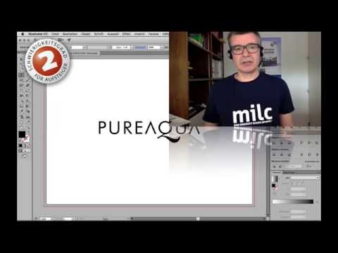 Illustrator CC WS17 Text als Pfad bearbeiten